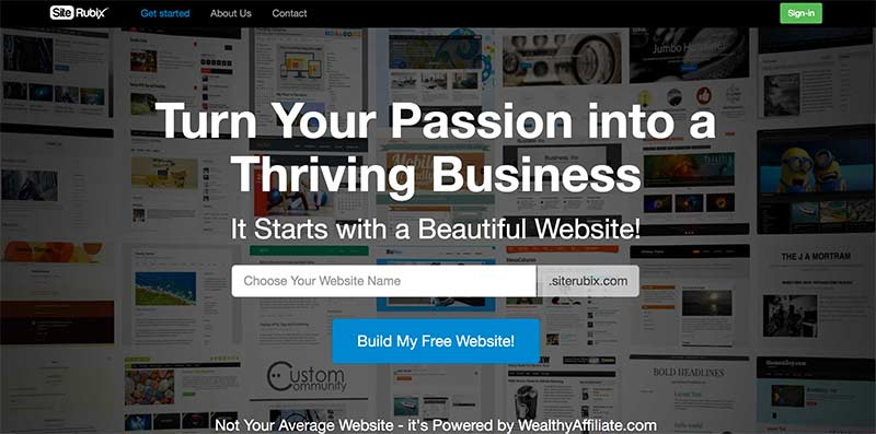 free affiliate marketing website